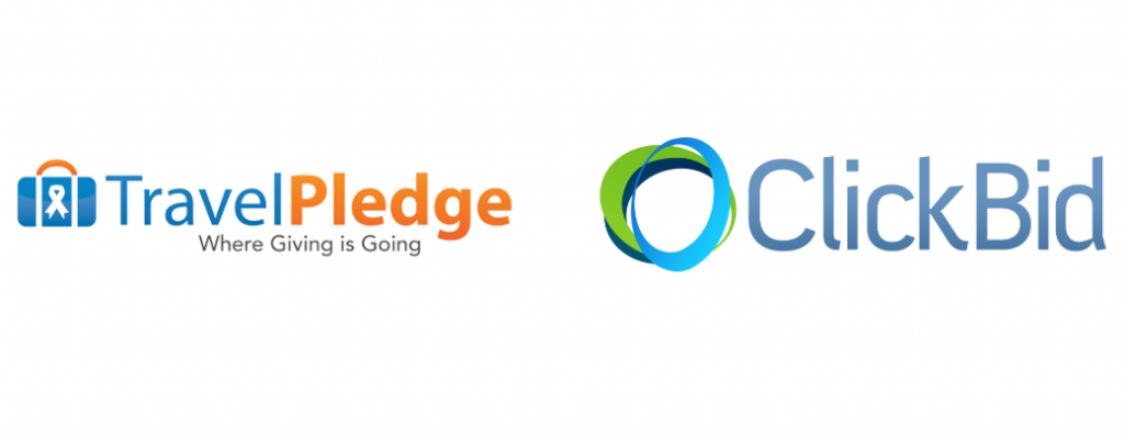TravelPledge partners with ClickBid