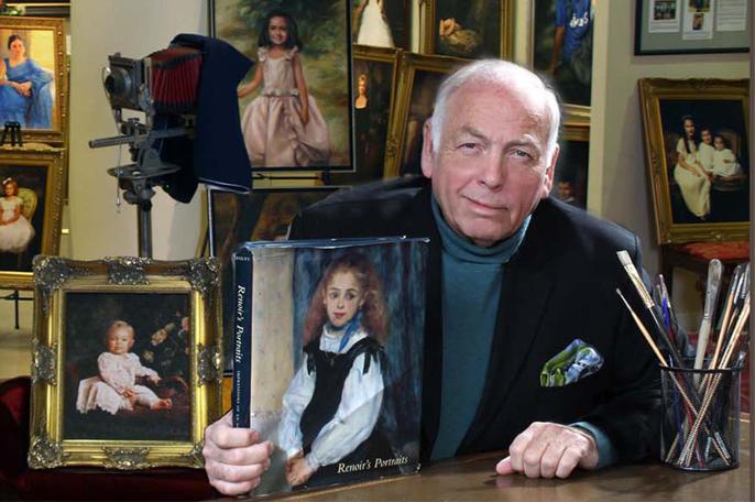 Don Sayles, master portrait artist