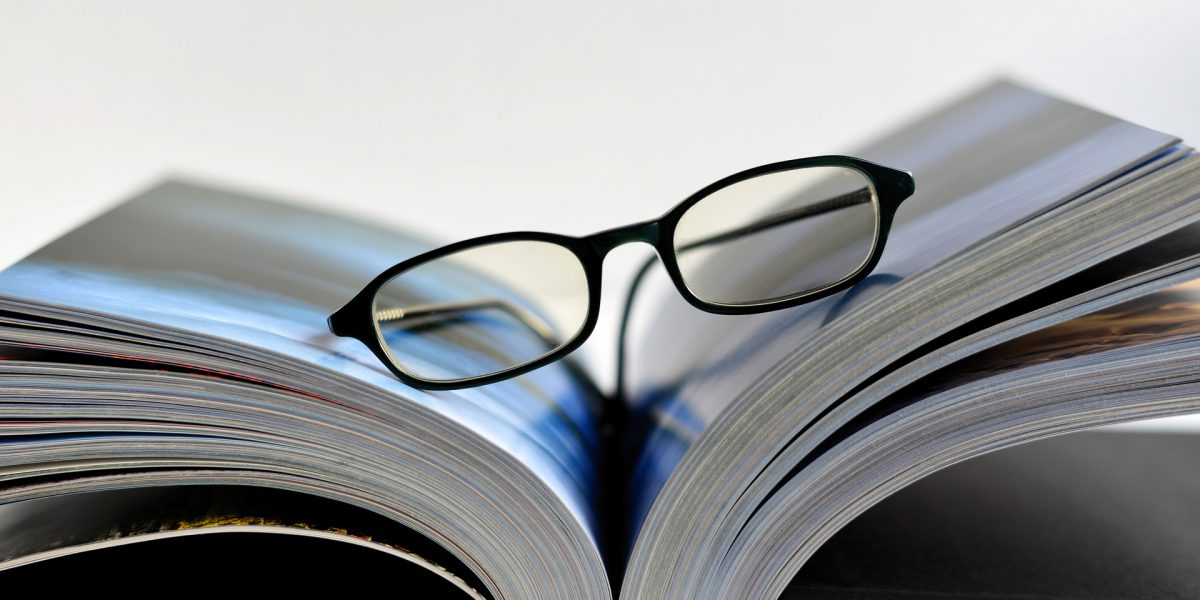 glasses booklet