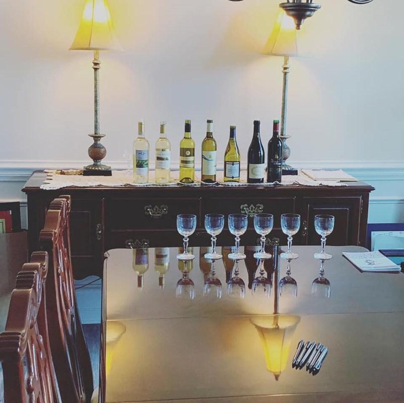Virtual wine sampling