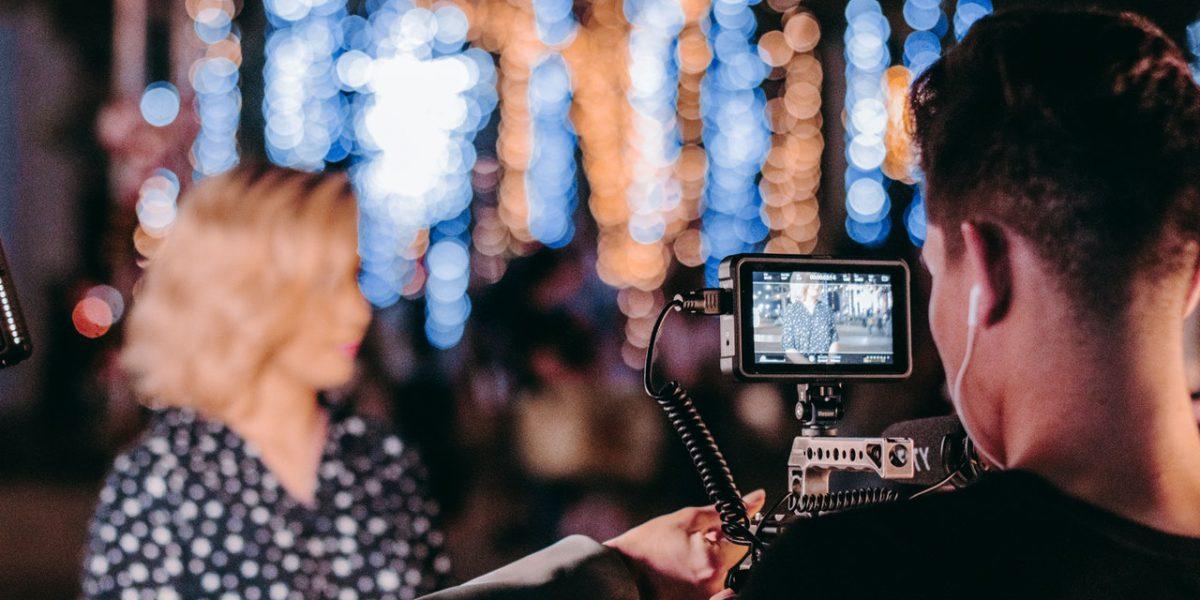 virtual gala filming