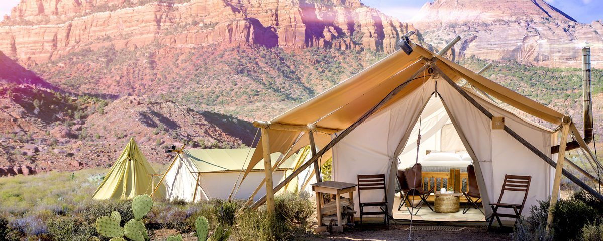 glamping in zion