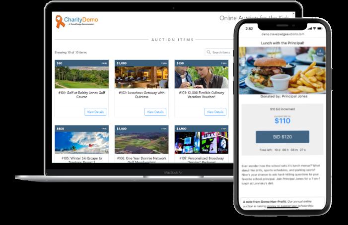 travelpledge auctions screenshots